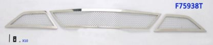 Mesh Grille 2013-2018 Ford Taurus  Lower Bumper Chrome All Model With Honeycomb Bumper