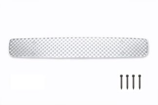 X Mesh Grille 2008-2010 Honda Accord  Lower Bumper Chrome Only Fit V6