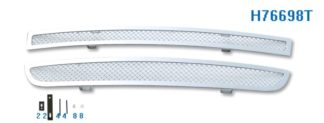 Mesh Grille 2004-2009 Honda S2000 Lower Bumper Chrome