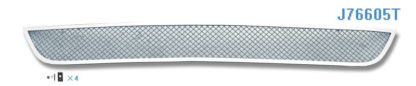 Mesh Grille 2009-2010 Jeep Grand Cherokee SRT8 Lower Bumper Chrome