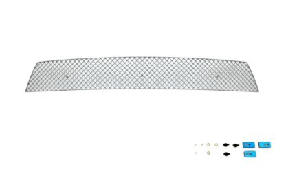 X Mesh Grille 2010-2013 Kia Forte Koup  Lower Bumper Chrome
