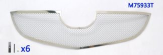 Mesh Grille 2012-2015 Mazda CX-5  Main Upper Chrome