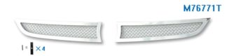 Mesh Grille 2010-2012 Mazda CX-7  Main Upper Chrome