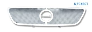 Mesh Grille 2002-2004 Nissan Altima  Main Upper Chrome