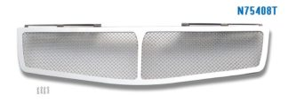 Mesh Grille 2004-2006 Nissan Maxima Main Upper Chrome 1 PC Cover 2 Holes