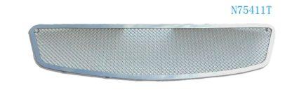 Mesh Grille 2005-2006 Nissan Altima  Main Upper Chrome All Models