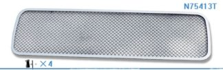 Mesh Grille 2004-2015 Nissan Titan  Lower Bumper Chrome