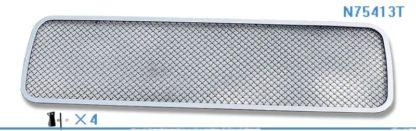 Mesh Grille 2004-2015 Nissan Titan  Lower Bumper Chrome