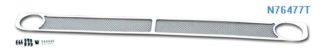 Mesh Grille 2007-2009 Nissan Altima  Lower Bumper Chrome Sedan