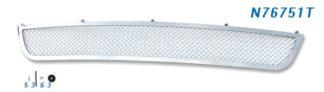 Mesh Grille 2010-2012 Nissan Altima  Lower Bumper Chrome Sedan