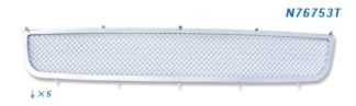 Mesh Grille 2010-2012 Nissan Altima Lower Bumper Chrome Coupe