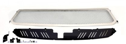 Mesh Grille 2014-2018 Toyota Tundra  Main Upper Polished