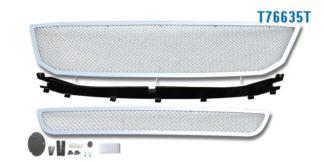 Mesh Grille 2008-2009 Toyota Avalon  Main Upper + Lower Bumper Chrome