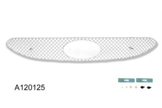 X Mesh Grille 2012-2013 Hyundai Accent  Main Upper Chrome