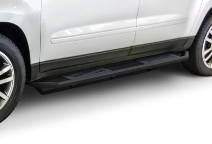 Truck Side Armor - 2 Inch Black Square Tube Style - 2007-2010 Saturn Outlook