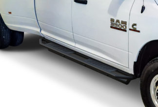 Truck Side Armor - 2 Inch Black Square Tube Style - 2010-2017 Dodge Ram 3500