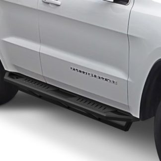 Jeep Side Armor - 2 Inch Black Square Tube Style - 2011-2017 Jeep Grand Cherokee