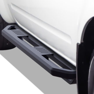 Truck Side Armor – 2 Inch Black Square Tube Style – 2005-2017 Nissan Frontier