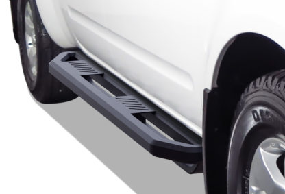 Truck Side Armor - 2 Inch Black Square Tube Style - 2005-2017 Nissan Frontier