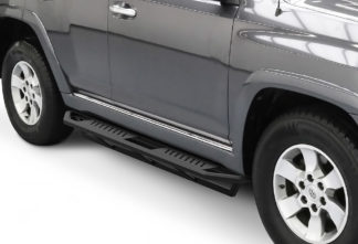 Truck Side Armor - 2 Inch Black Square Tube Style - 2010-2017 Toyota 4 Runner