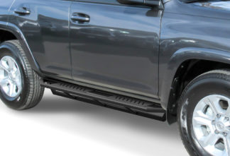 Truck Side Armor – 2 Inch Black Square Tube Style – 2014-2017 Toyota 4 Runner
