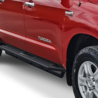 Truck Side Armor – 2 Inch Black Square Tube Style – 2007-2017 Toyota Tundra
