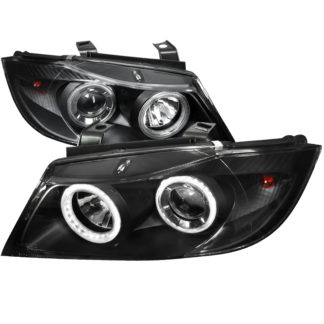 05-08 BMW 3 Series Projector HeadLight Black Housing