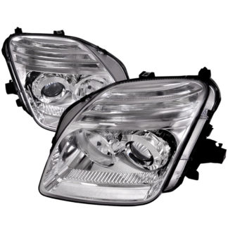 97-01 Honda Prelude Projector HeadLights Chrome