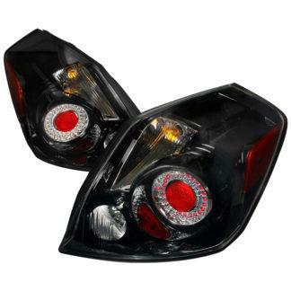 07-09 Nissan Altima Led Tail Lights Black