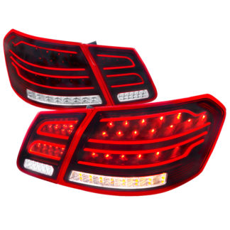 09-12 Mercedes E Class Led Tail Lights Red