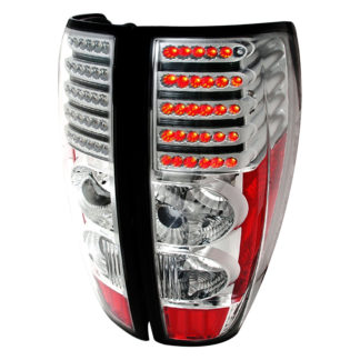 04-12 Chevrolet Colorado  | Canyon Led Tail Lights Chrome