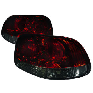 93-97 Honda Del Sol Tail Lights - Red Smoke