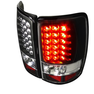 00-06 Chevy | GMC Denali | Tahoe Led Tail Lights Black
