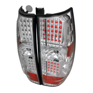 07-10 Chevy | GMC Denali | Tahoe Led Tail Lights Chrome