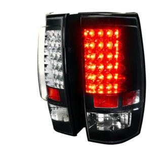 07-11 Chevrolet Tahoe G2 Led Tail Light Black