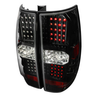 07-10 Chevy | GMC Denali | Tahoe Led Tail Lights Black