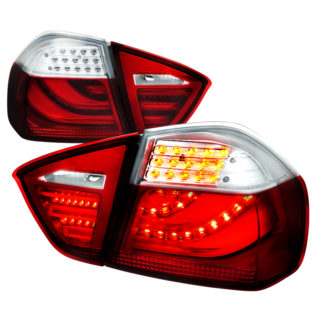 05-08 BMW 3 Series 3 Series Led Tail Lights Red 4 Door