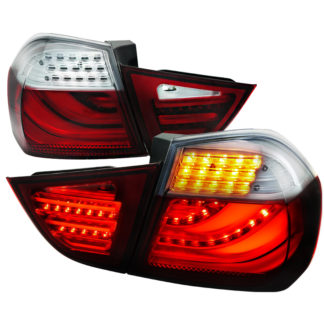 09-12 BMW 3 Series 3 Series Led Tail Lights Red