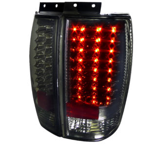 97-02 Ford Expedition Led Tail Lights Smoke