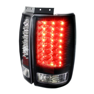 97-01 Ford Expedition Led Tail Lights Black