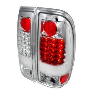 99-07 Ford F350 Led Tail Lights Chrome
