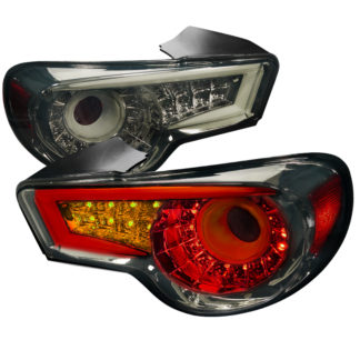 13-UP Scion FRS Led Tail Lights Smoke