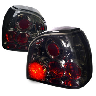 93-98 Volkswagen Golf Led Tail Lights Smoked Lens