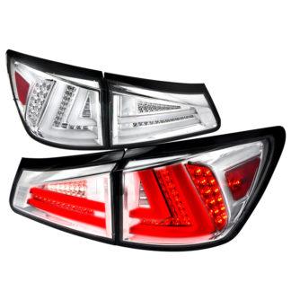 06-08 Lexus IS250 Led Tail Lights Chrome