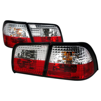 95-96 Nissan Maxima Altezza Tail Light Red Clear