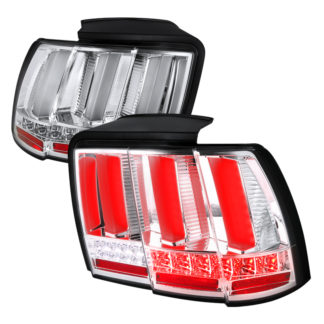 99-04 Ford Mustang Ford Mustang Sequential Led Tail Light - Chrome