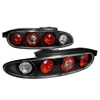 92-95 Mazda Mx3 Altezza Tail Light Black