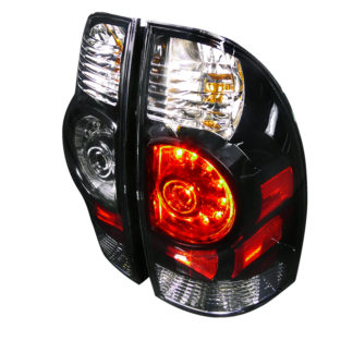 05-12 Toyota Tacoma Led Tail Light Black Housing