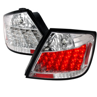 05-10 Scion TC Led Tail Lights Chrome