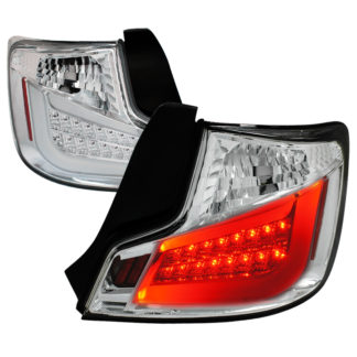 2011 ONLY Scion TC Led Tail Lights Chrome Housing